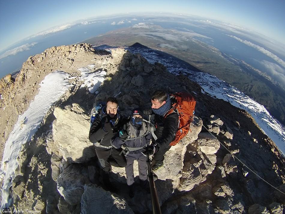 3.718 metros de altitud - Teide - Tenerife