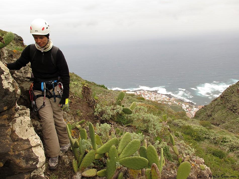 Barranco de Correa - Parque Rural de Teno - Tenerife - la caleta de interián