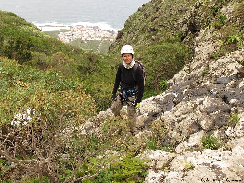 Barranco de Correa - Los Silos - Tenerife - la caleta de interián