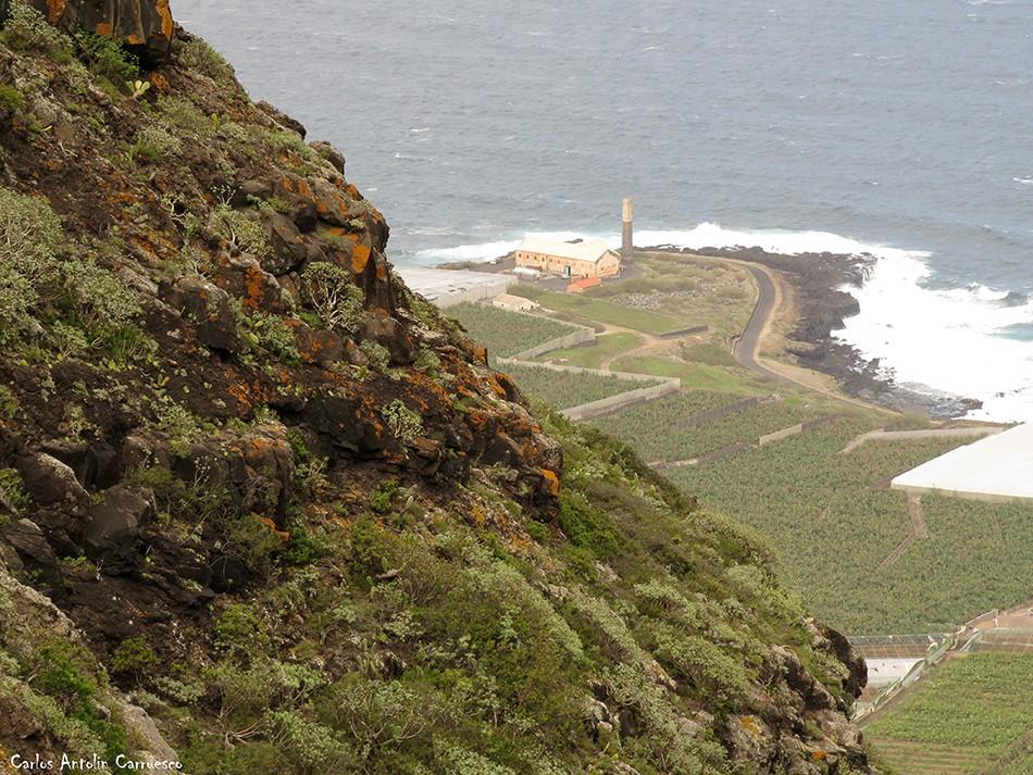 Barranco de Correa - Los Silos - Tenerife - ingenio de daute
