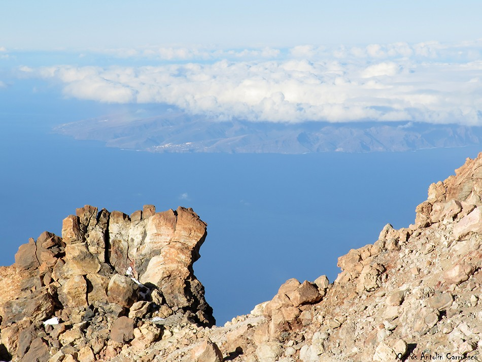 Cráter del Teide - Parque Nacional del Teide - Tenerife - la gomera