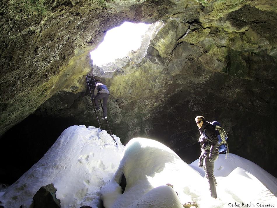 La Cueva del Hielo - Parque Nacional del Teide - Tenerife
