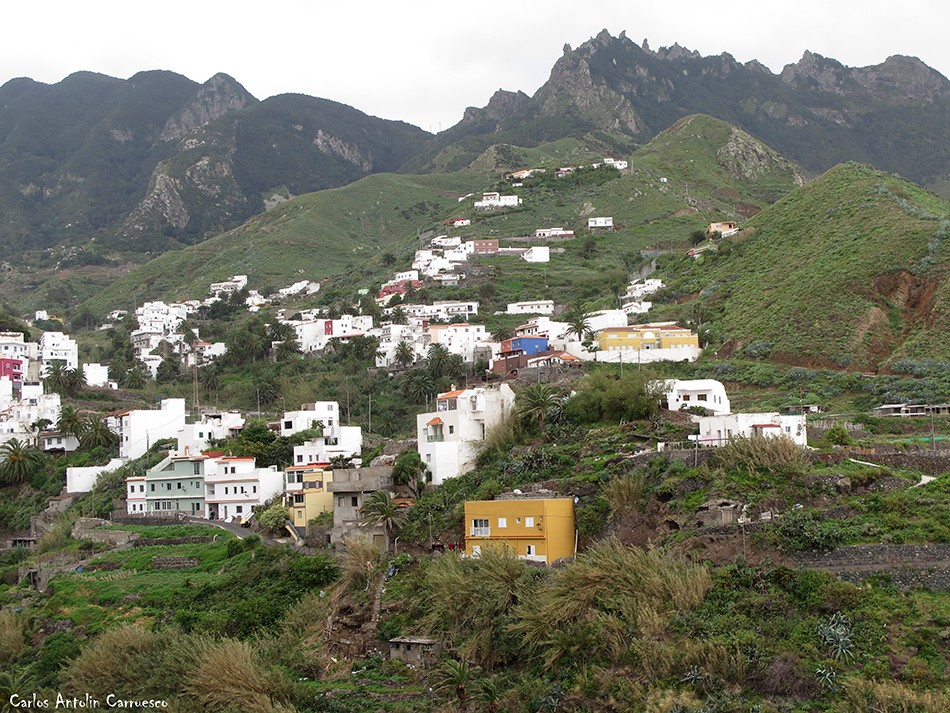 Las Ánimas - Vía Taganana - Tenerife - taganana - anaga