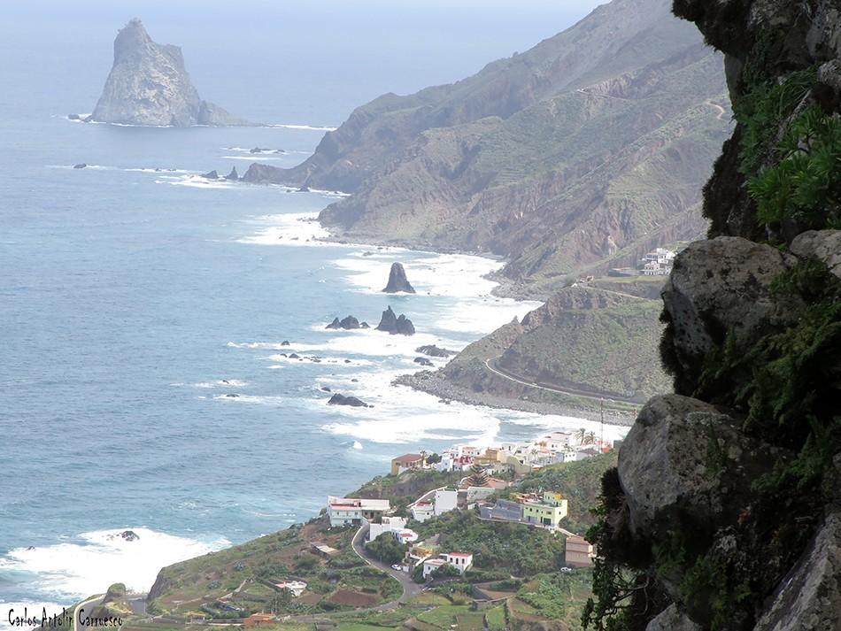Las Ánimas - Vía Taganana - Tenerife - almáciga - benijo - roques de anaga - anaga