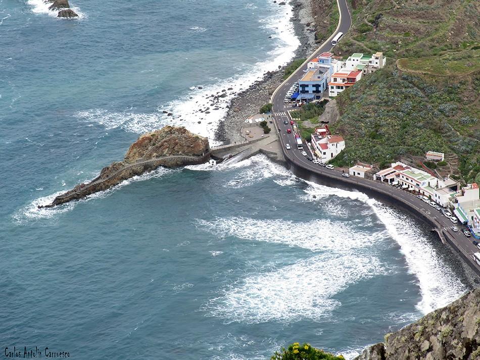 Las Ánimas - Vía Taganana - Tenerife - roque de las bodegas - anaga