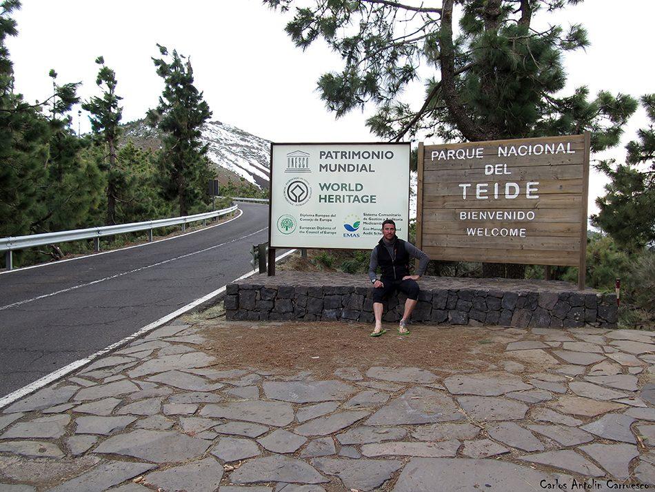 Parque Nacional del Teide - La Crucita - Tenerife - Caldera de Pedro Gil