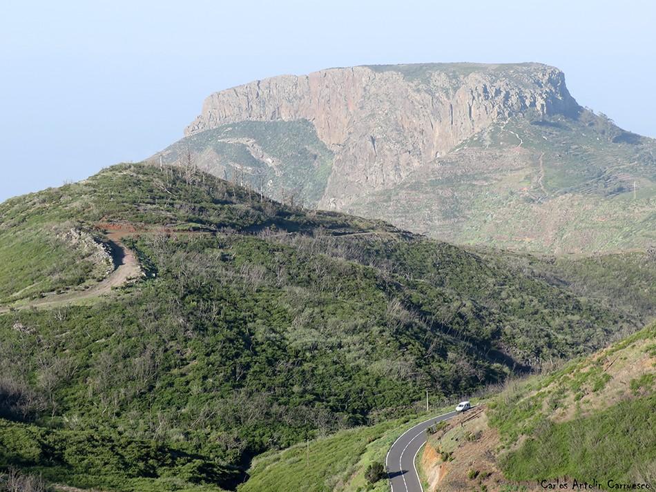 Parque Nacional de Garajonay - La Gomera - argodey - la fortaleza - chipude