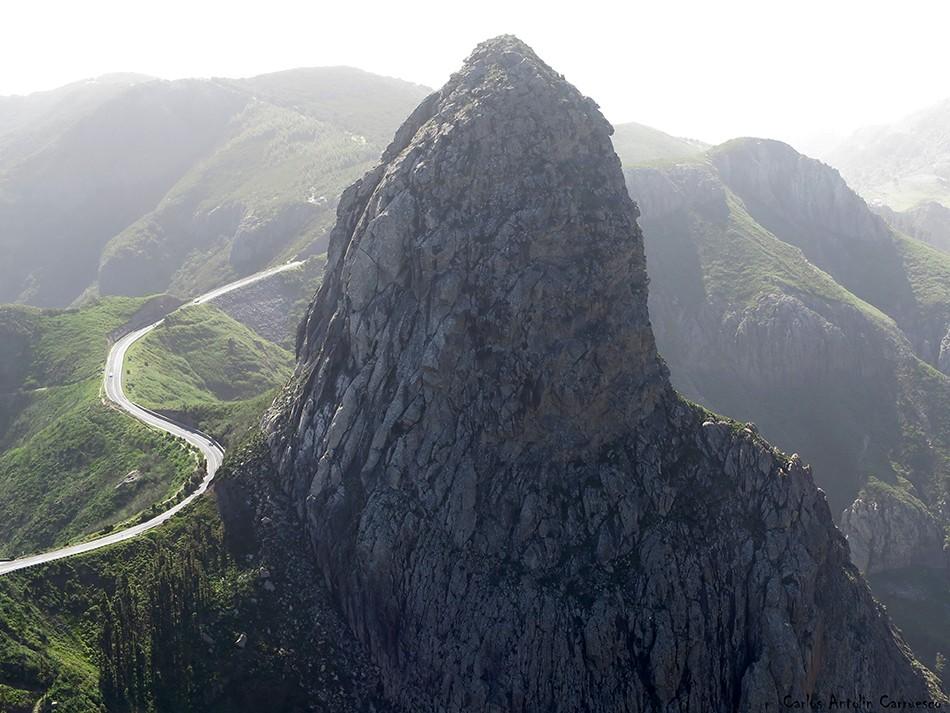 Roque de Agando - La Gomera