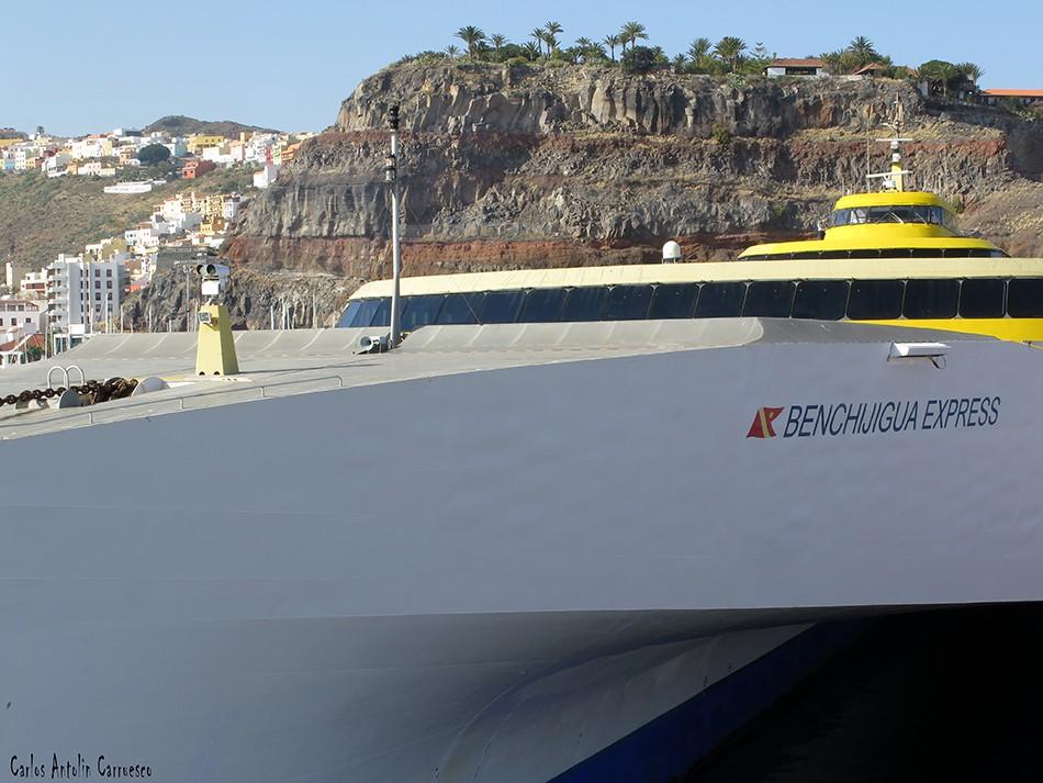 San Sebastián de La Gomera - GR131 - La Gomera - benchijigua - fred olsen