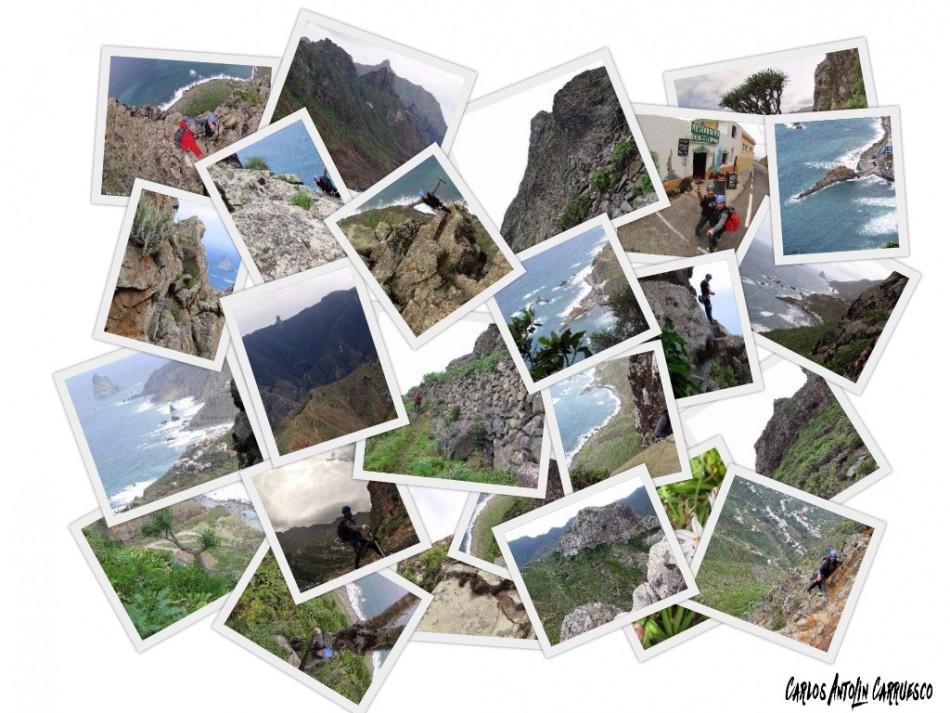 Cara Norte de Las Ánimas - Vía Taganana - Tenerife
