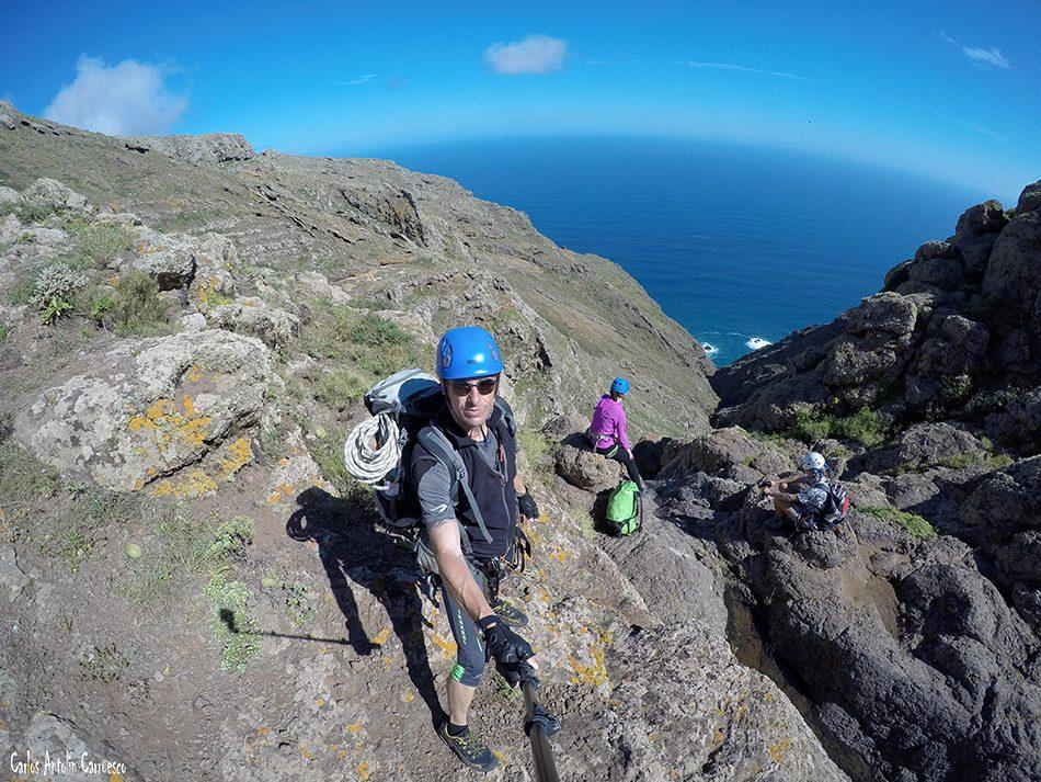 Teno Alto - Ajoque - Tenerife - salto del atajo