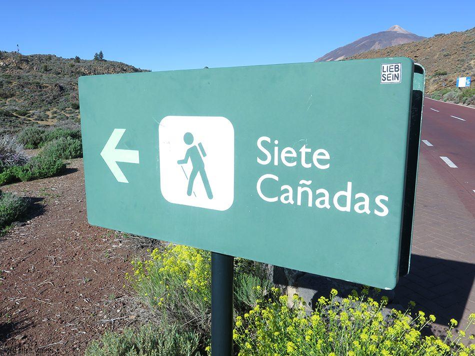 Centro de Visitantes de El Portillo - Teide - Tenerife - siete cañadas