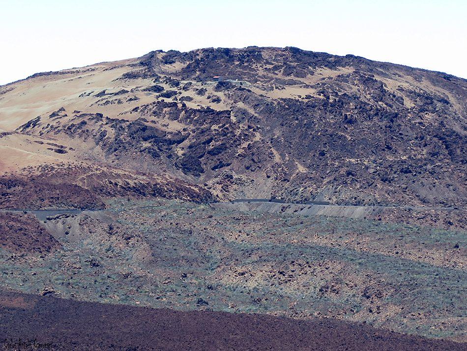 El Filo - Teide - Tenerife - montaña rajada
