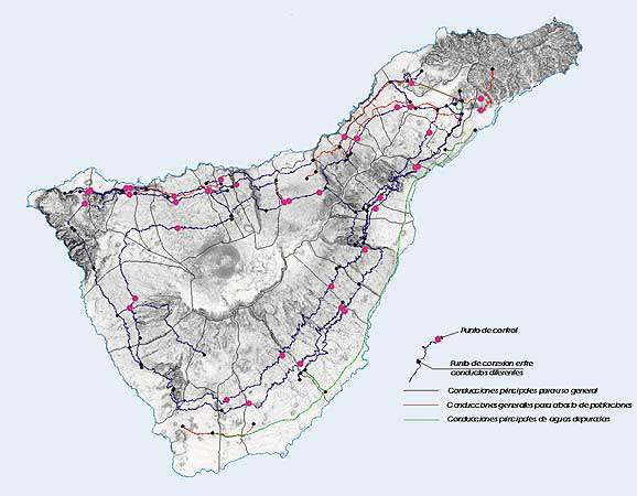 Canales y galerías - Alumbramientos - Tenerife