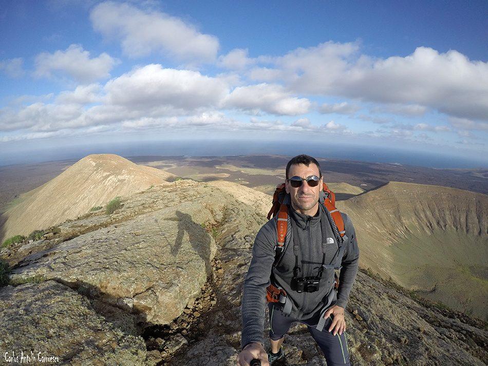 Montaña Caldera Blanca - Timanfaya - Lanzarote