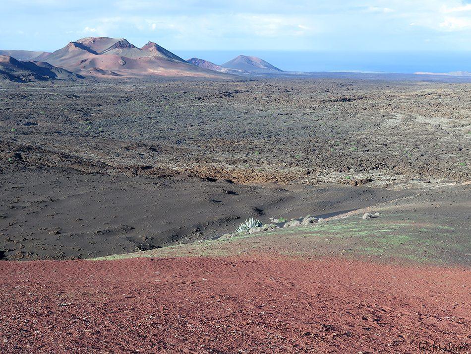 Parque Nacional de Timanfaya - Lanzarote - montañas de fuego