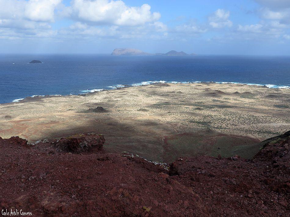 Isla de La Graciosa - Montaña Bermeja - Lanzarote - alegranza - Playa de Las Conchas