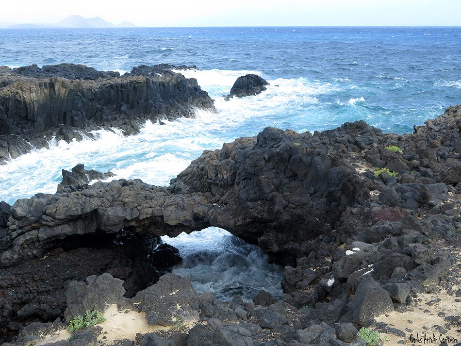Isla de La Graciosa - Caletón de Los Arcos - Lanzarote