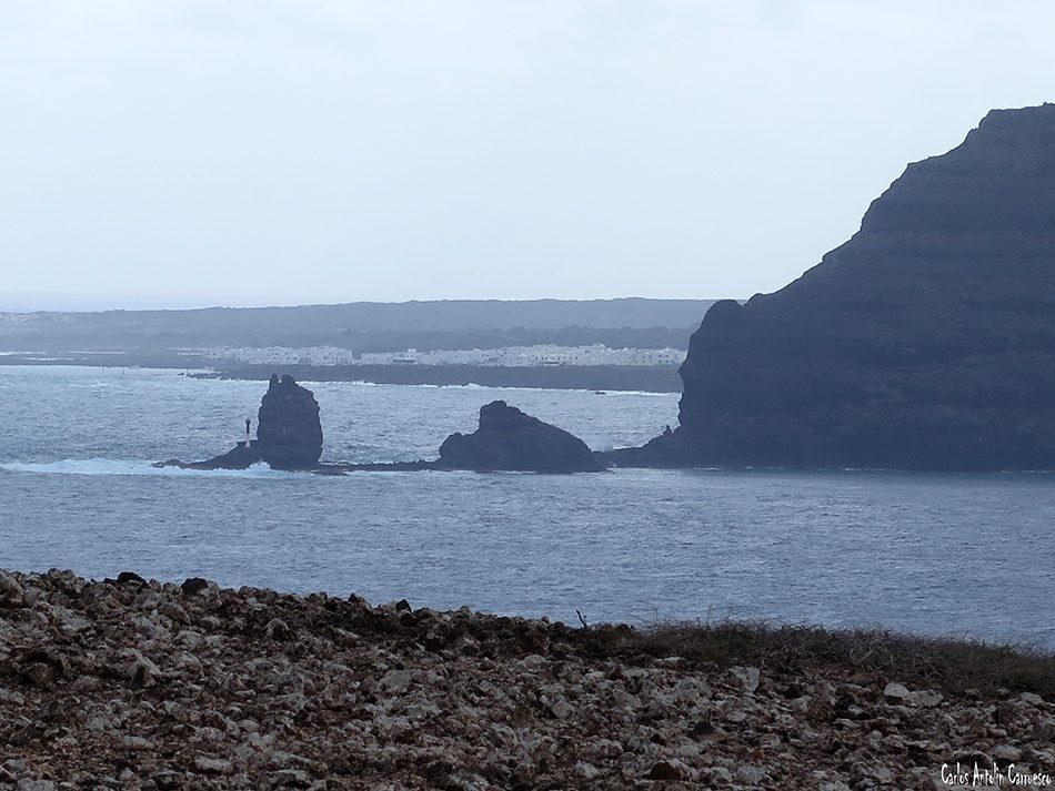 Isla de La Graciosa - Acantilados de Famara - Lanzarote - orzola - punta fariones