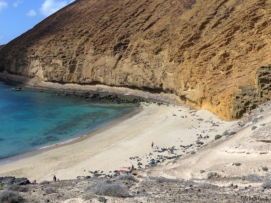 Isla de La Graciosa - Montaña Amarilla - Lanzarote - Playa de la Cocina