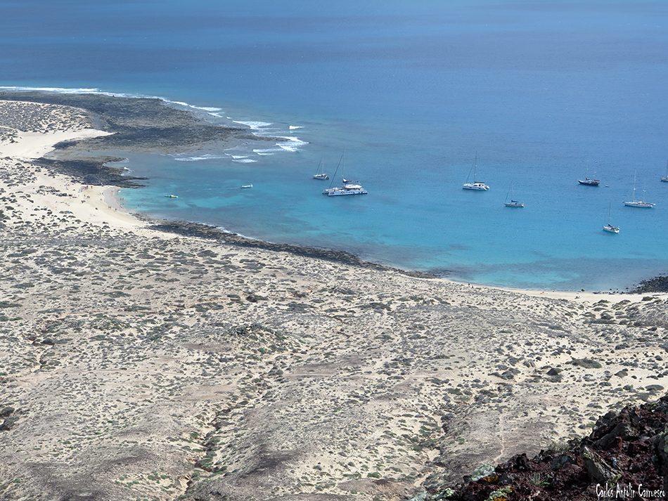 Isla de La Graciosa - Playa Francesa - Lanzarote