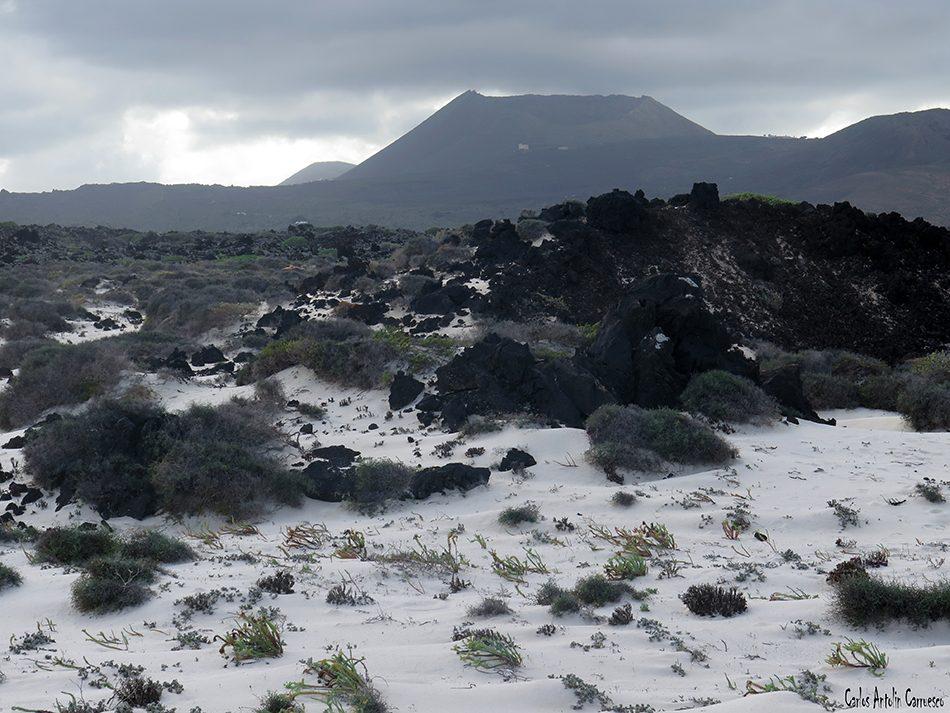 Orzola - Volcán La Corona - Lanzarote