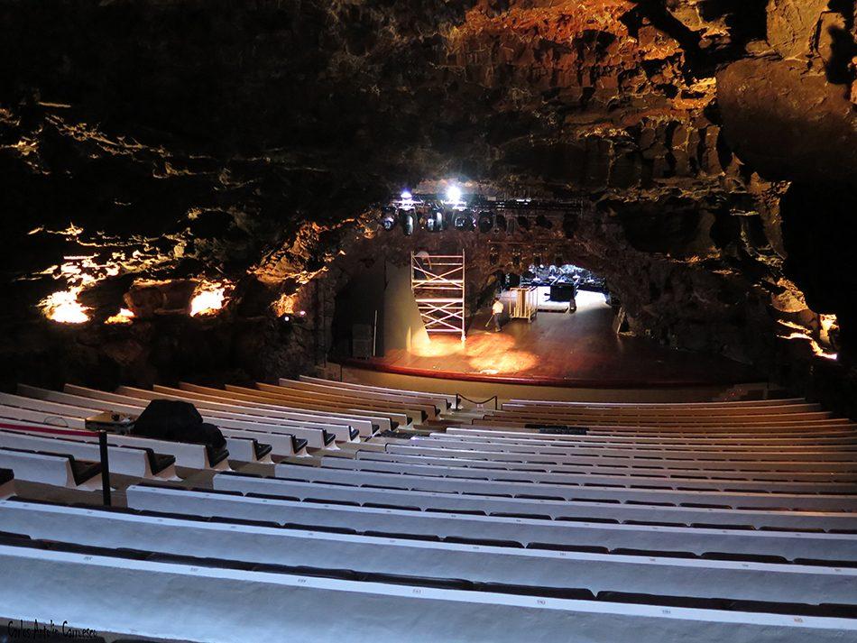 Jameos del Agua - César Manrique - Lanzarote - auditorio