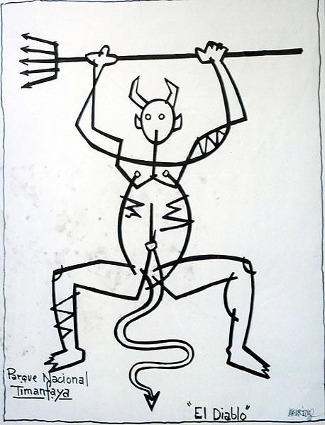 El Diablo - César Manrique - Lanzarote - timanfaya