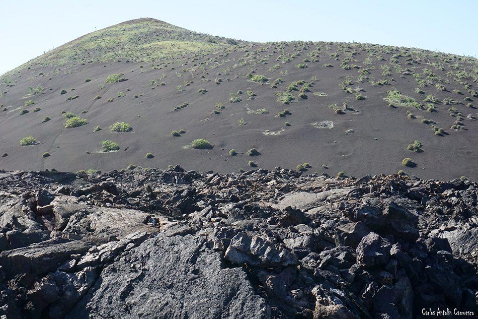 Ruta Termesana - Timanfaya - Lanzarote - montaña maria hernandez - tremesana