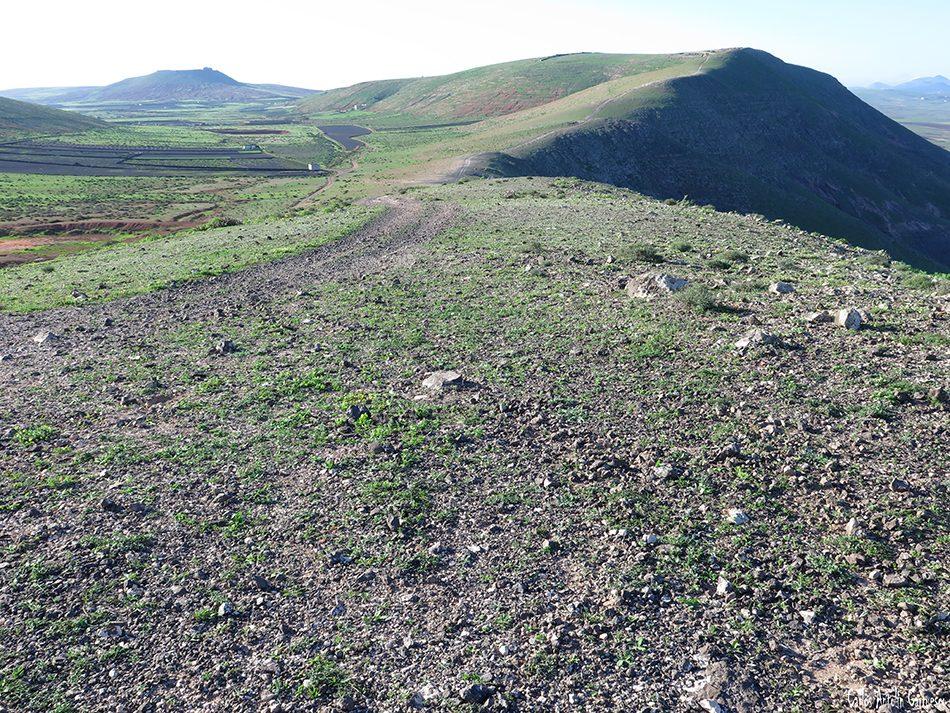 Riscos de Famara - Pico Maramajo - Lanzarote - morro alto