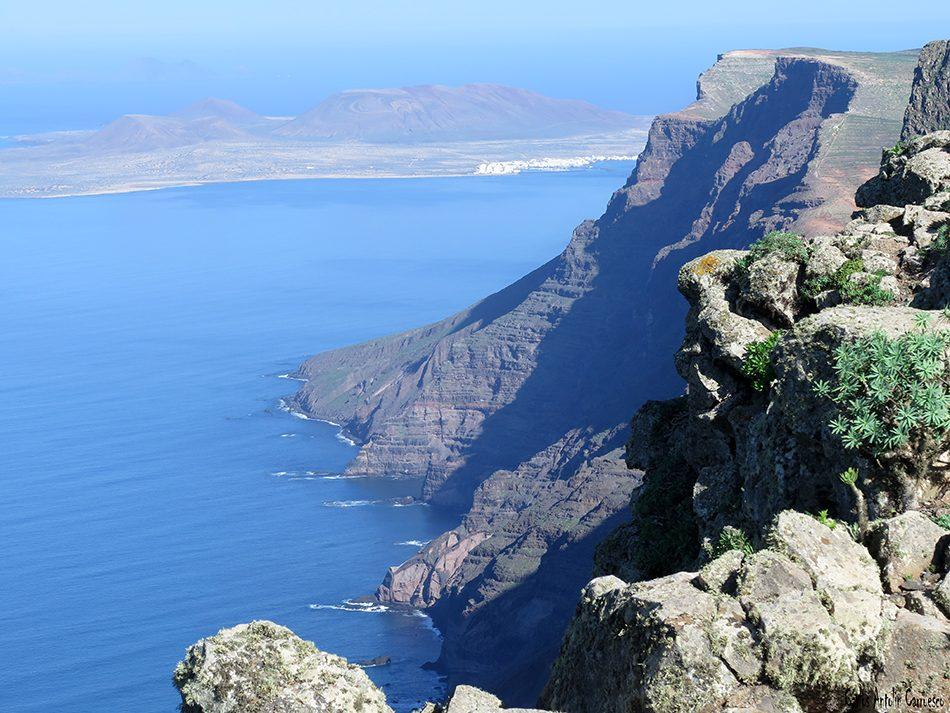 Peñas de Chache - Famara - Lanzarote - la graciosa