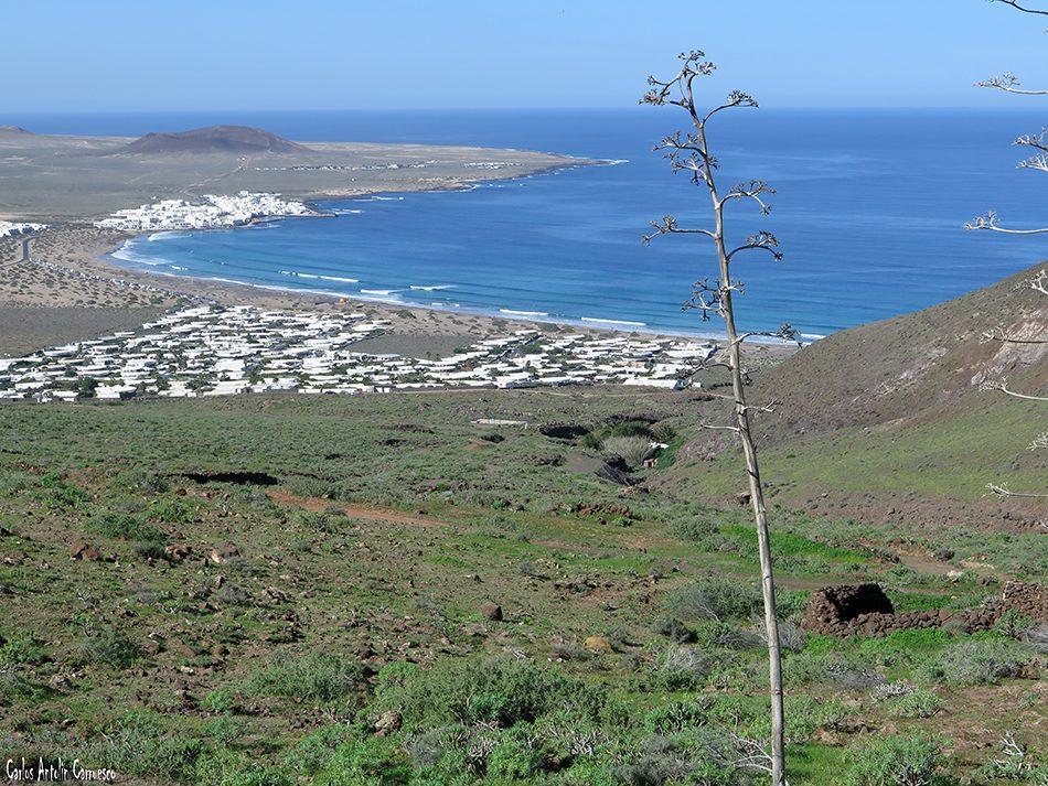 Barranco de La Paja - Famara - Lanzarote - Los Noruegos - Caleta de Famara