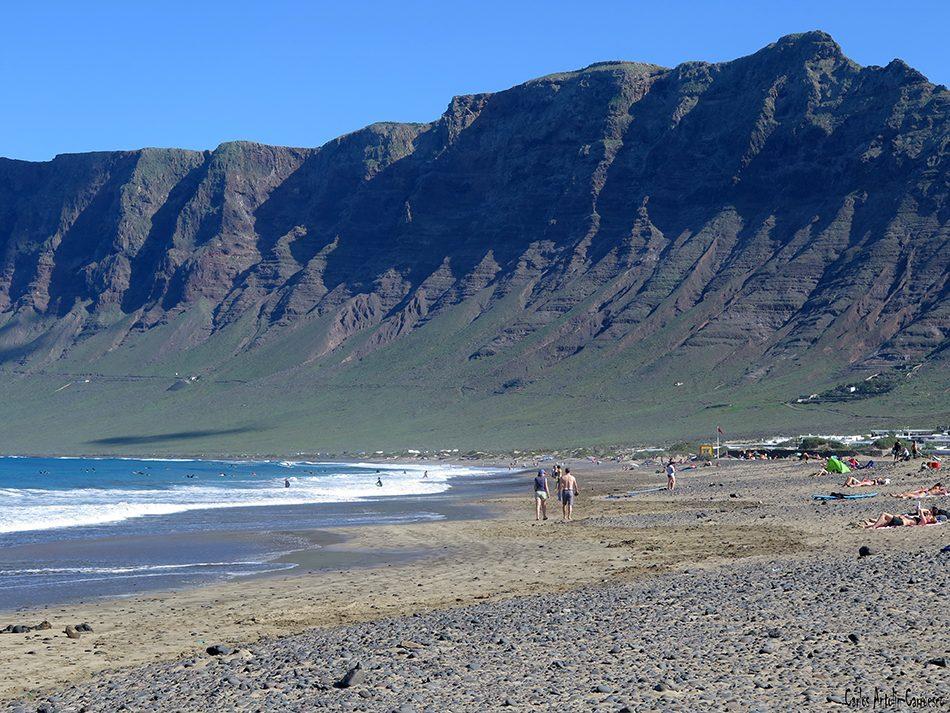 Playa de Famara - Riscos de Famara - Lanzarote
