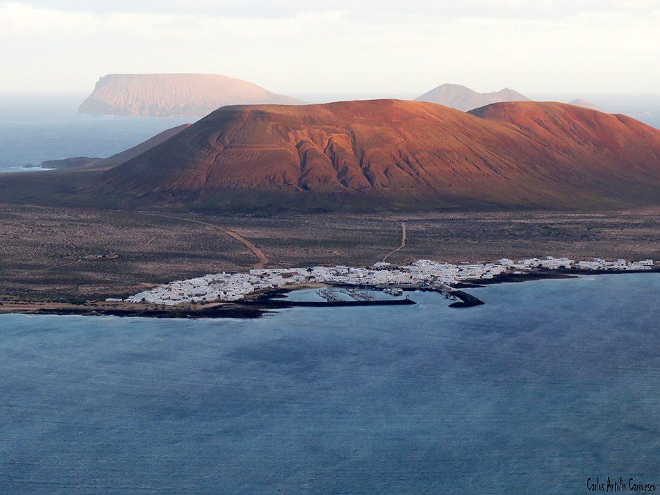 Isla de La Graciosa - Mirador de Guinate - Lanzarote - Archipiélago Chinijo - Caleta de Sebo