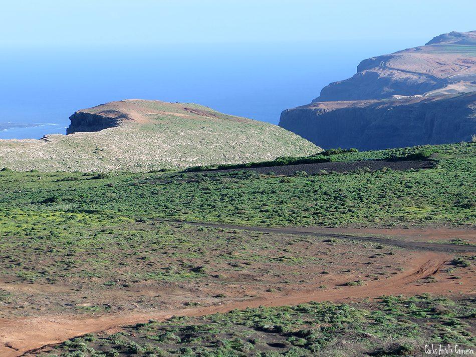 Camino de Gayo - Macizo de Famara - Lanzarote - Los Lomos de Gallo
