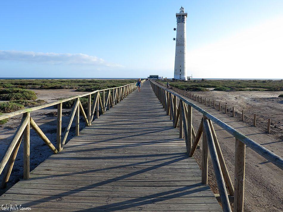 Morro Jable - Jandia - Fuerteventura - playa de sotavento - punta del matorral