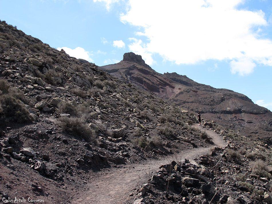 El Cardón - Ermita del Tanquito - Fuerteventura - espigón ojo cabra