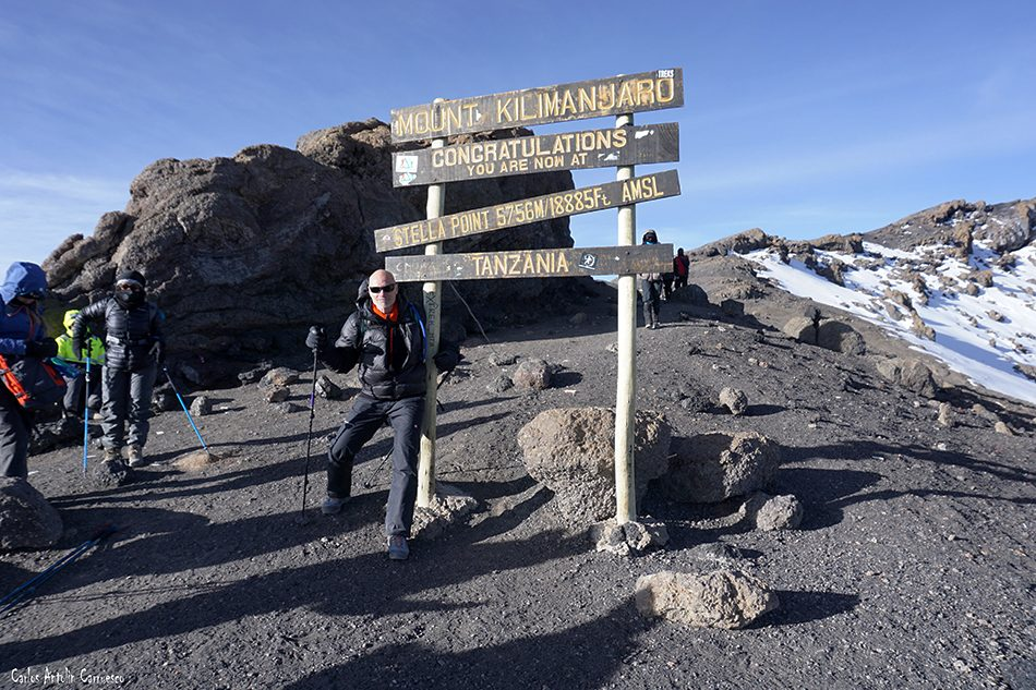 Stella Point - Kibo - Kilimanjaro