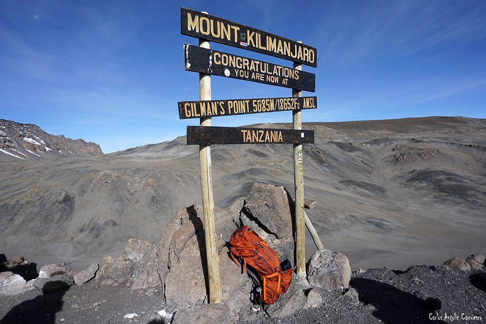 Rongai - Tanzania - Kilimanjaro<br /> Volcán Kibo - Gilman's Point