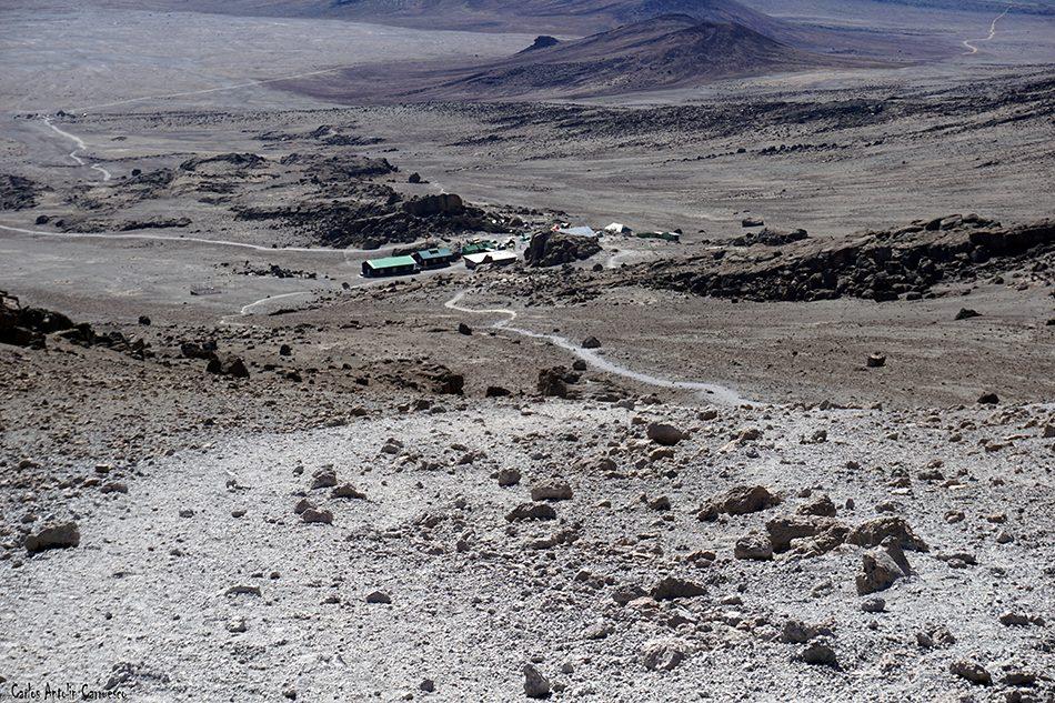 Rongai - Tanzania - Kilimanjaro - Volcán Kibo - kibo hut
