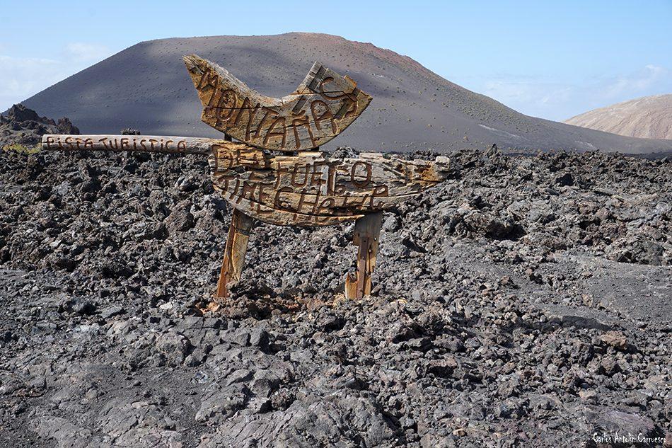Timanfaya - Montañas de Fuego - Lanzarote - La Ruta de Los Volcanes