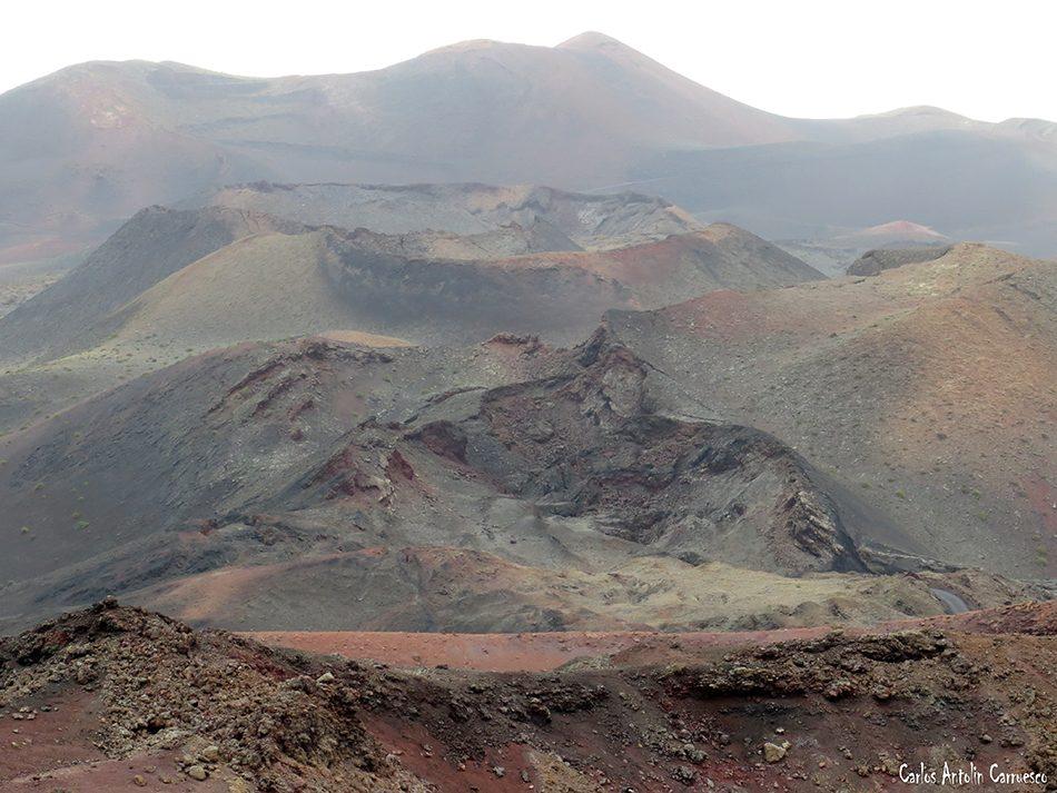 Montaña Rajada - Timanfaya - Lanzarote