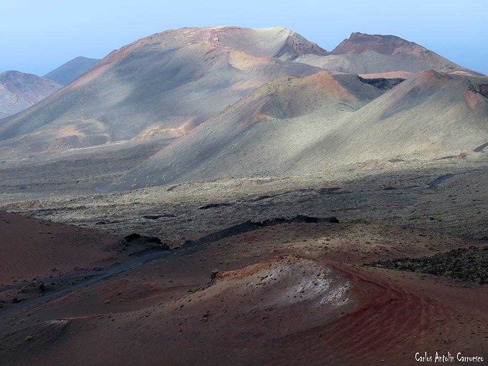 Timanfaya - Montaña Rajada - Lanzarote - La Ruta de Los Volcanes