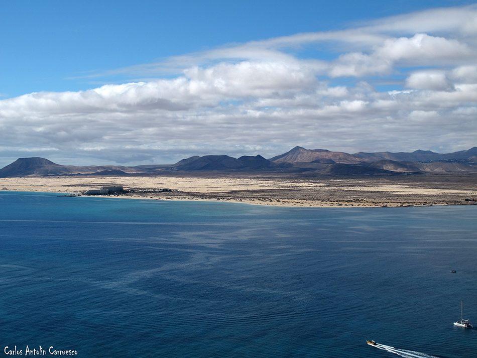 Islote de Lobos - dunas de corralejo - Fuerteventura