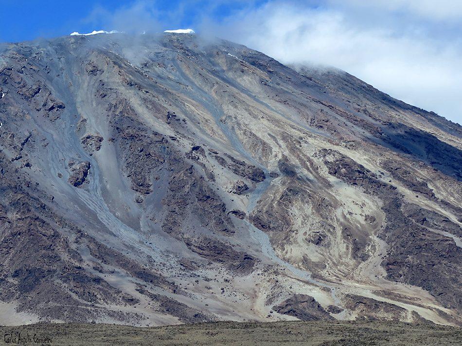 Volcán Kibo - Rongai - Kilimanjaro