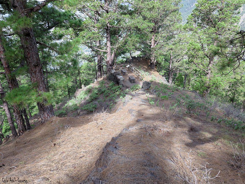 La Cancelita - Caldera de Taburiente - La Palma - morro de los gatos