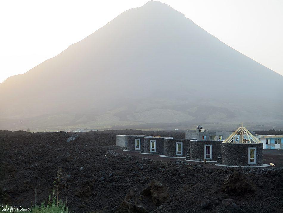 Chã das Caldeiras - Fogo - Cabo Verde - pico de fogo