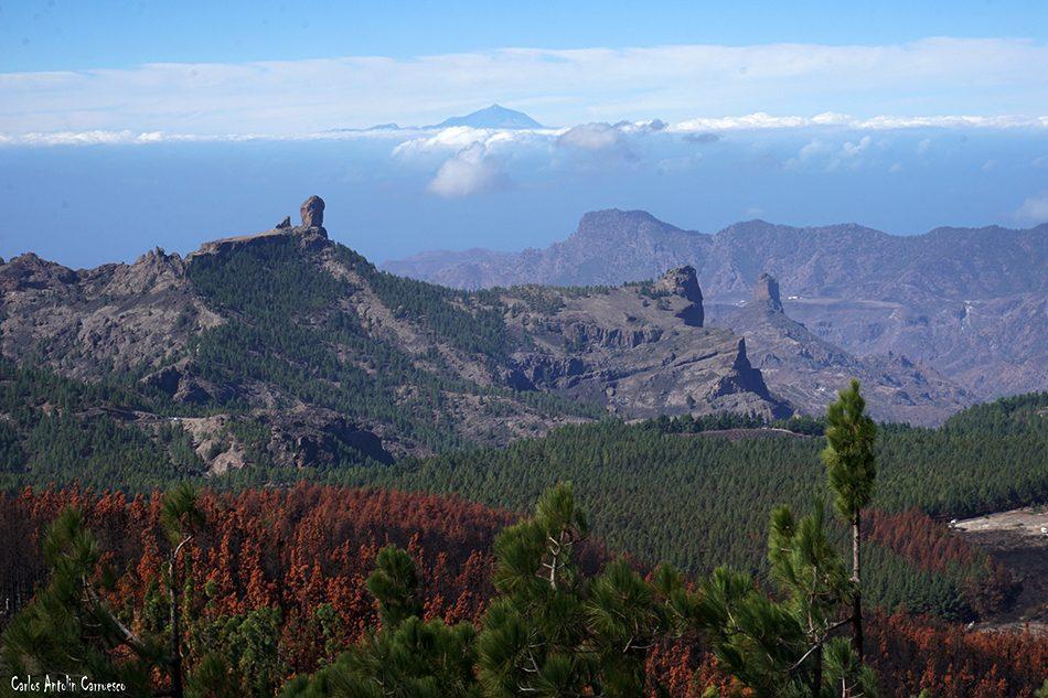 Roque Nublo - Mirador Pico de Las Nieves (1.949 metros de altitud) - Gran Canaria