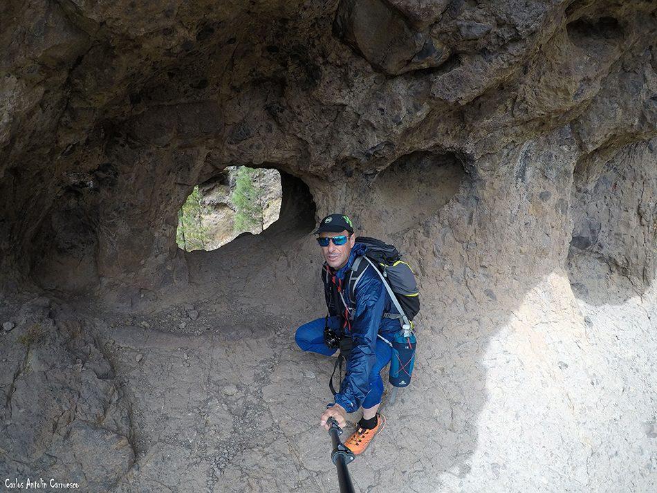 Cañadón Sombrío - Tirajana - Gran Canaria - Paso de Panantón