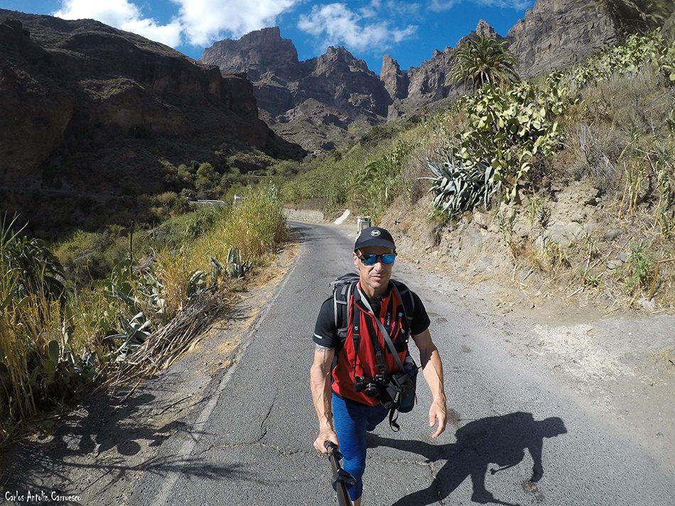 Riscos de Tirajana - Gran Canaria - la culata - bentejui
